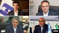 این چهار مدیرعامل بانک بعد از افشای دریافت حقوق های چند میلیونی برکنار شده اند.