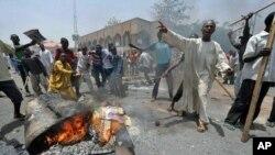 Ghasia zilizozuka katika mji wa Kano, kaskazini mwa Nigeria baada ya kutangazwa matokeo rasmi ya uchaguzi wa rais
