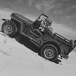 The Army and the adventurous loved the Jeep's ability to drive off-road.