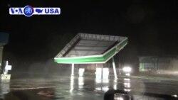 VOA60 America - Hurricane Triggers Life-threatening Storm Surge