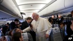 羅馬天主教教宗方濟各星期六到約旦進行訪問,這是他為期三天的中東之旅的第一站。