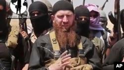 """El checheno Omar al-Shishani, es considerado uno de los más importantes combatientes en las filas de los """"yihadistas"""", en Siria."""