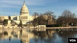 Gedung DPR Amerika Serikat, Capitol Hill, Washington DC (Foto: dok).