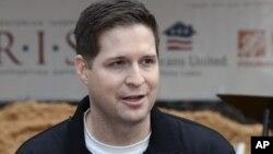 Brian Kolfage, pelopor penggalangan dana online untuk pembangunan tembok di perbatasan AS-Meksiko (foto: dok).