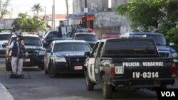 Miguel Angel López Velasco escribía una columna de contenido político y policiaco en Veracruz.