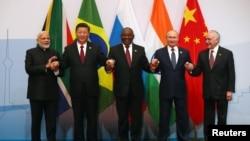 巴西、俄羅斯、印度、中國和南非在內的金磚國家週三在南非開始了為期三天的峰會。