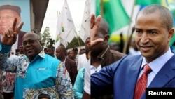 Felix Tshisekedi et Moïse Katumbi.