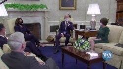 Група із 10 сенаторів-республіканців провела зустріч з президентом Байденом у Білому домі. Відео
