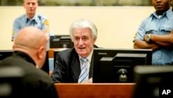 رادوان کاراجیچ در دادگاه