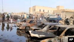 Car Bombs Rock Baghdad, Kirkuk