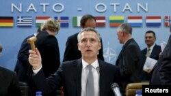 ေျမာက္အတၱလႏၱိတ္စာခ်ဳပ္ NATO အဖြဲ႔ အႀကီးအကဲ Jens Stoltenberg