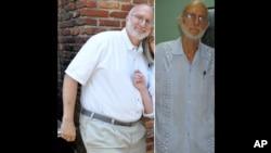 Alan Gross ha bajado más de 40 kilos, pero autoridades cubanas señalan que es por la rutina de ejercicios y la dieta que voluntariamente está siguiendo el contratista estadounidense.