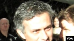 Pelatih klub Spanyol Real Madrid, Jose Mourinho, mendapat pengurangan hukuman dari UEFA.