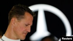 FILE - Michael Schumacher