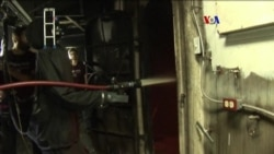 Robot bombero en la Marina estadounidense