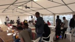 Reportage VOA Afrique dans un camp pour migrants à Rome