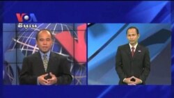 In First Presidential Debate Romney Put Obama in Hard Defensive (news in Khmer)