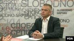 Budimir Ničić, predsednik UNS na Kosovu i dopisnik Glasa Amerike