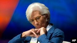 International Monetary Find (IMF) Managing Director Christine Lagarde
