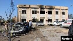 7일 리비아 서부 즐리텐의 경찰훈련소에서 차량 폭탄 공격이 발생해 수십 명이 사망했다.