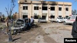 Mesto napada u libijskom gradu Zilten