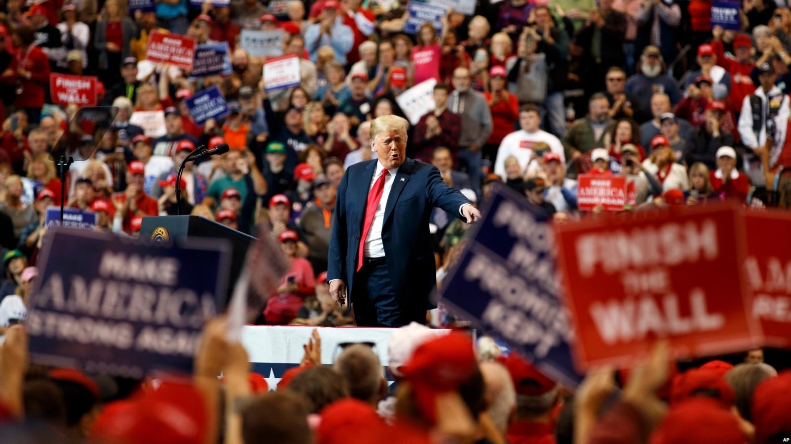 Трамп проводит усиленную агитацию накануне промежуточных выборов