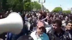 اعتراض شدید کشاورزان در اصفهان با شعار مرگ بر دولت