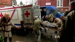 Ukraine War Wounded Flood Civilian Hospitals