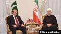 ژانویه گذشته نواز شریف به ایران سفر کرده بود.