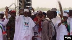 Shugaban Najeriya Muhammadu Buhari a Zamfara