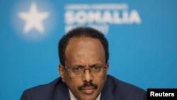 Perezida wa Somaliya Mohamed Abdullahi Farmajo