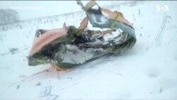 Кадри із Підмосков'я: розбився пасажирський літак із 71 людиною на борту. Відео