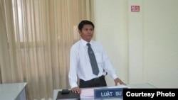 Luật sư Nguyễn Thanh Lương diện pháp lý của Phương Uyên