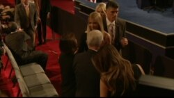 Donald Trump's family arrives with Trump running mate Mike Pence