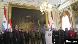 Respecto a su situación Lugo ha dicho que comparecerá ante las autoridades de su país pero que no renunciará a su cargo por considerar que no existe una causa válida.