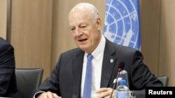 Utusan PBB untuk Suriah Staffan de Mistura mengatakan prihatin atas keretakan dalam kerjasama AS-Rusia (foto: dok).