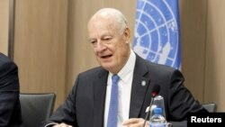 U.N. mediator for Syria Staffan de Mistura