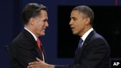 奥巴马与罗姆尼