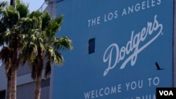 Stadion Dodger di Los Angeles, markas klub baseball Los Angeles Dodgers (foto: dok.).