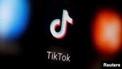 抖音TikTok標誌。