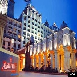 Hotel Marriott mengalami perkembangan pesat di Tiongkok dan Brasil dalam beberapa tahun terakhir (foto: dok).
