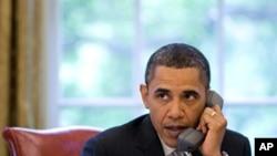 صدر اوباما اوول آفس میں
