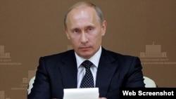 روس کے صدر ولادی میر پوٹن(فائل)