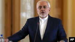Menlu Iran Mohammad Javad Zarif menyangkal tuduhan Arab Saudi bahwa negaranya telah meluncurkan rudal dari Yaman (foto: dok).