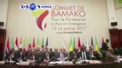 Abayobozi 30 b'Afurika n'Ubufaransa bari mu nama i Bamako