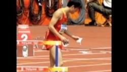 伦敦奥运刘翔再次摔倒 中国观众同情
