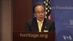 香港公民党高层访美主张中港不同 呼吁解除对港钢铝关税