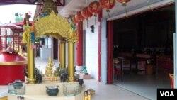 Vihara Dharma Bakti Peunayong Kawasan Kampung Keberagaman Banda Aceh (VOA/Budi Nahaba)