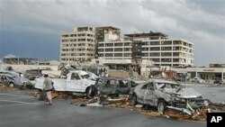 هلاکت ۸۹ نفر تن در اثر گردباد در امریکا