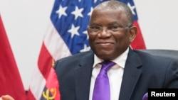 O min. Negócios Estrangeiros de Angola Georges Chikoti